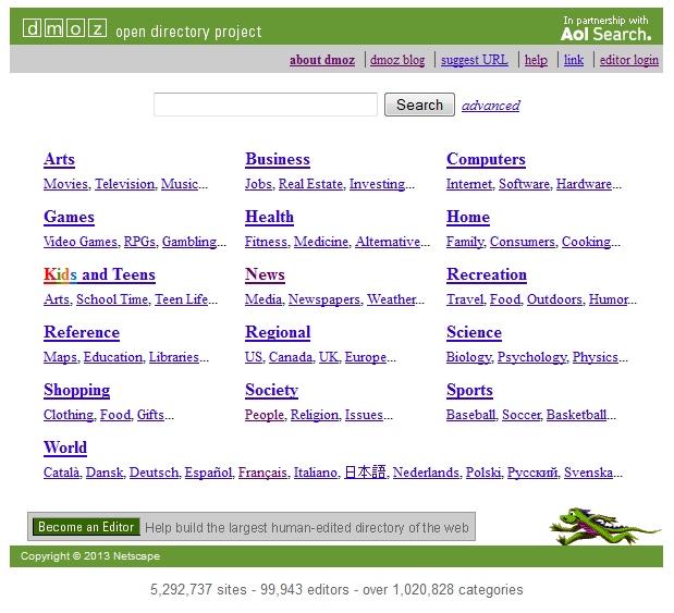 Dmoz_-_Open_Directory_Project